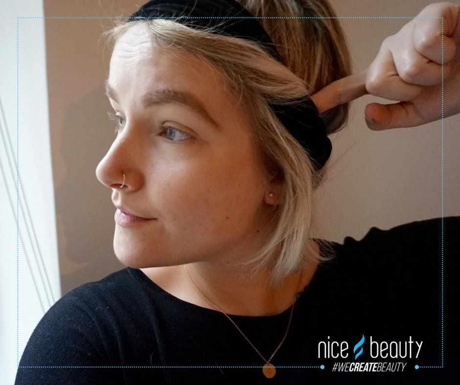 hårbånd kort hår