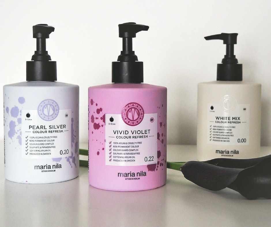 hårfarve shampoo