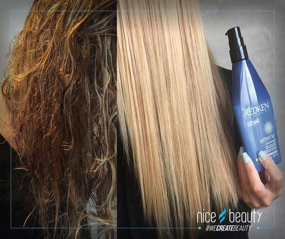 produkter til skadet hår