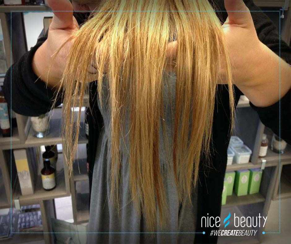 tørt hår hjælp