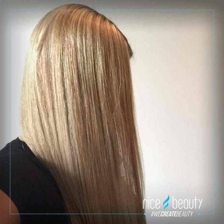 fugt til tørt hår