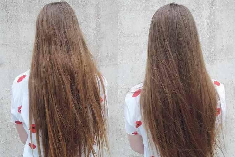 Färben hellbraun dunkelbraune haare Haare von