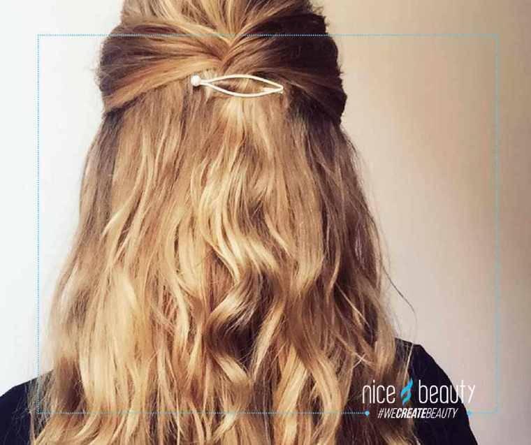 Håret knold i Valk til