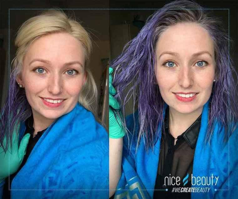 silver shampoo gult hår