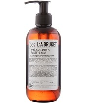 L:A Bruket 069 Hand & Body Wash 250 ml - Lemongrass