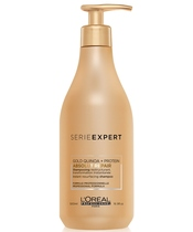 L'Oréal Serie Expert Golden Repair Shampoo 500 ml