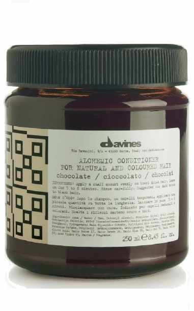 Davines Alchemic Conditioner 250 ml - Chocolate (gl. design)