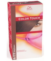 Wella Color touch - 6/77 Int. Chocolate