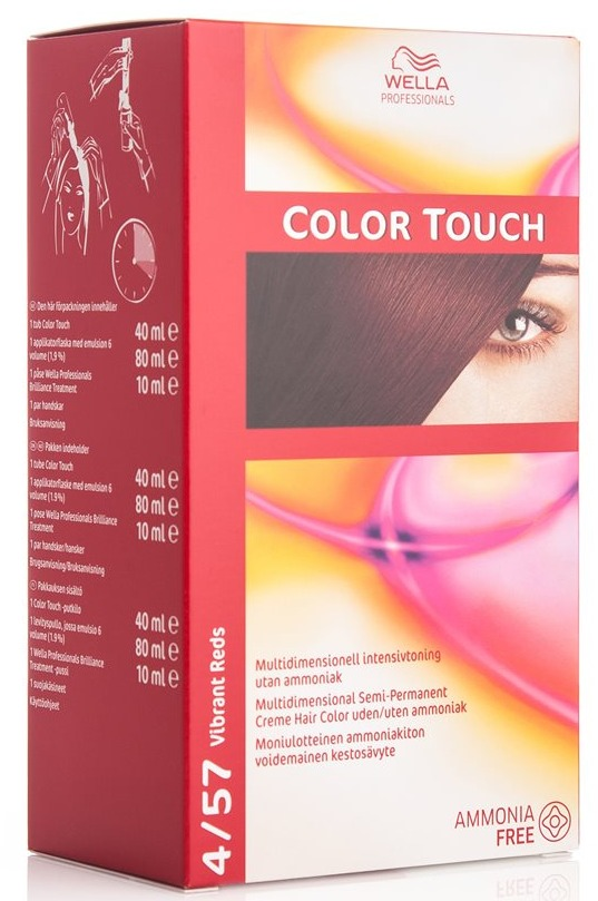 Wella Color Touch 4 57 Vibrant Reds