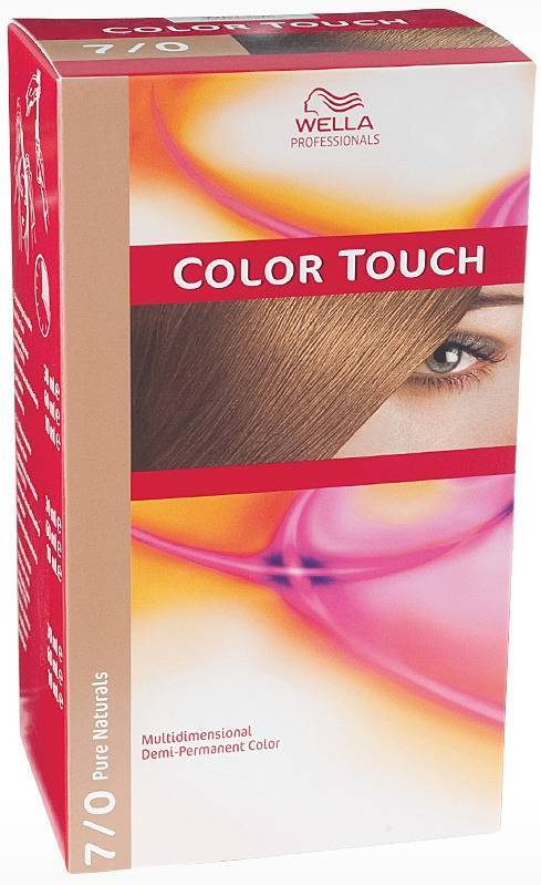 Wella Wella color touch - 6645 rubinrod fra nicehair.dk