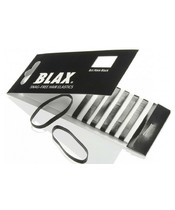 Blax Hair Elastics 8 Pieces - Black