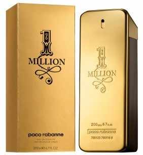 Paco Rabanne One Million Eau De Toilette Spray Man 200ml