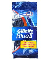 Gillette Blue II 10 Razors