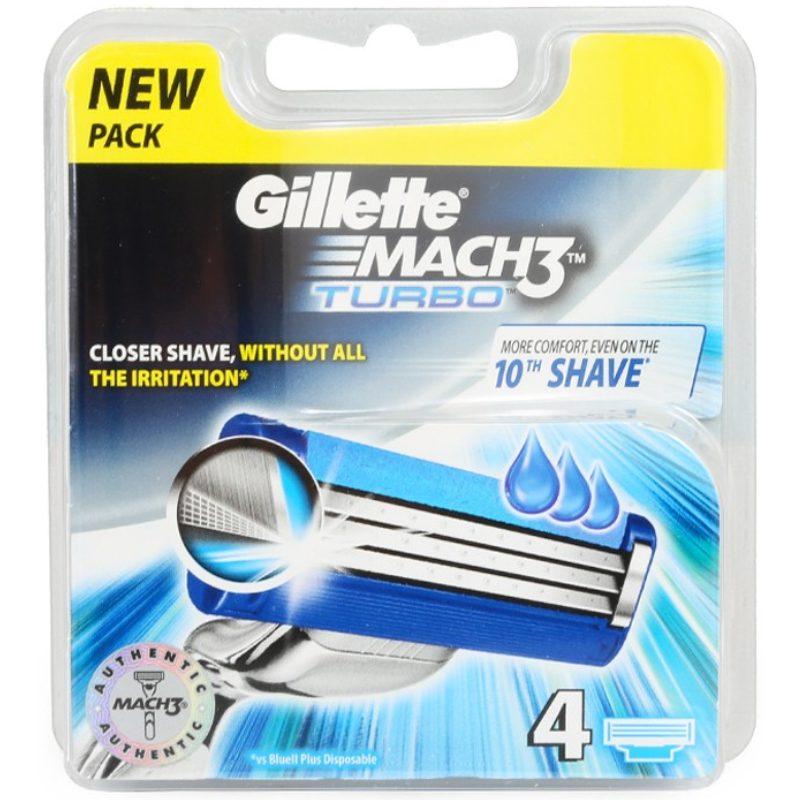 Gillette Mach3 Turbo 4 blade