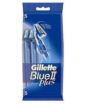 Gillette Blue II Plus 5 Razors