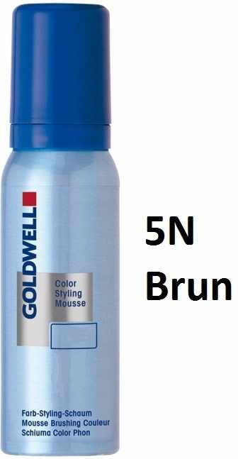 Goldwell colorance color styling mousse 75 ml 5N lightbrown