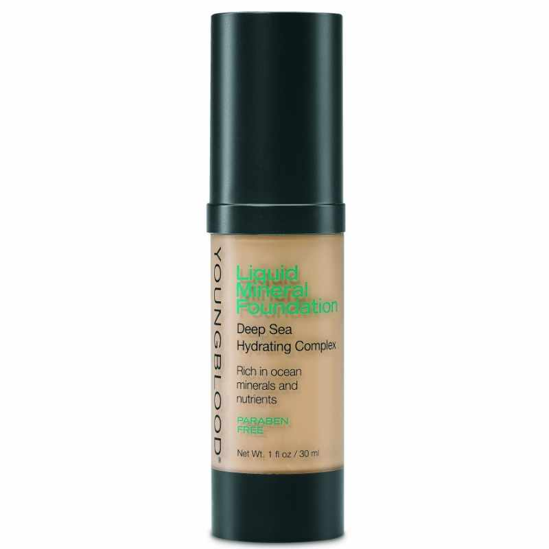 Youngblood Liquid Mineral Foundation Golden Tan 30 ml