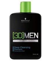 [3D] MEN Deep Cleansing Shampoo 250 ml (US)