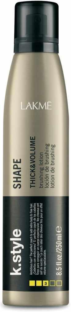Lakmé K.Style Thick & Volume Shape Brushing Lotion 250 ml ...