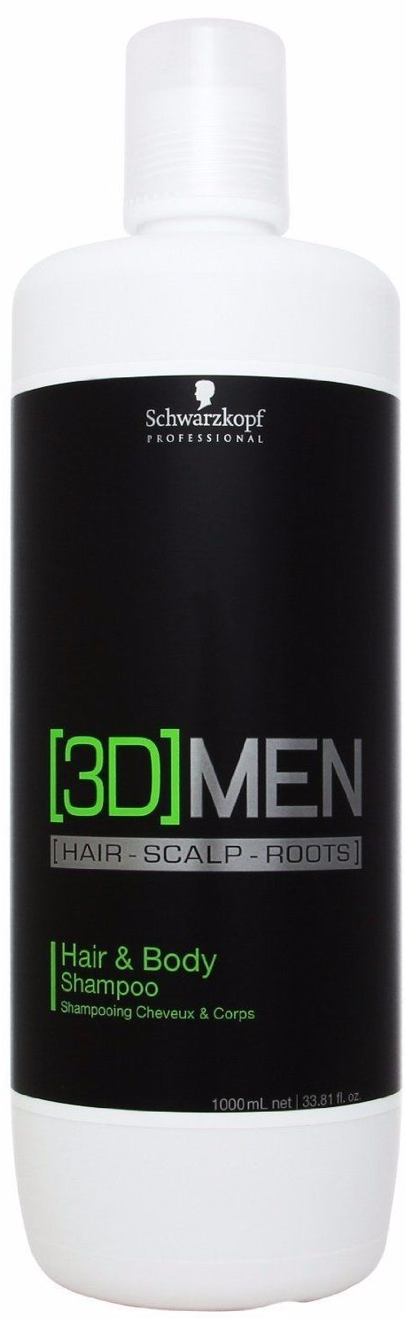 Foto van 3D MEN Hair Body Shampoo 1000 ml US