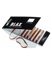 Blax Hair Elastics 8 Pieces - Brown