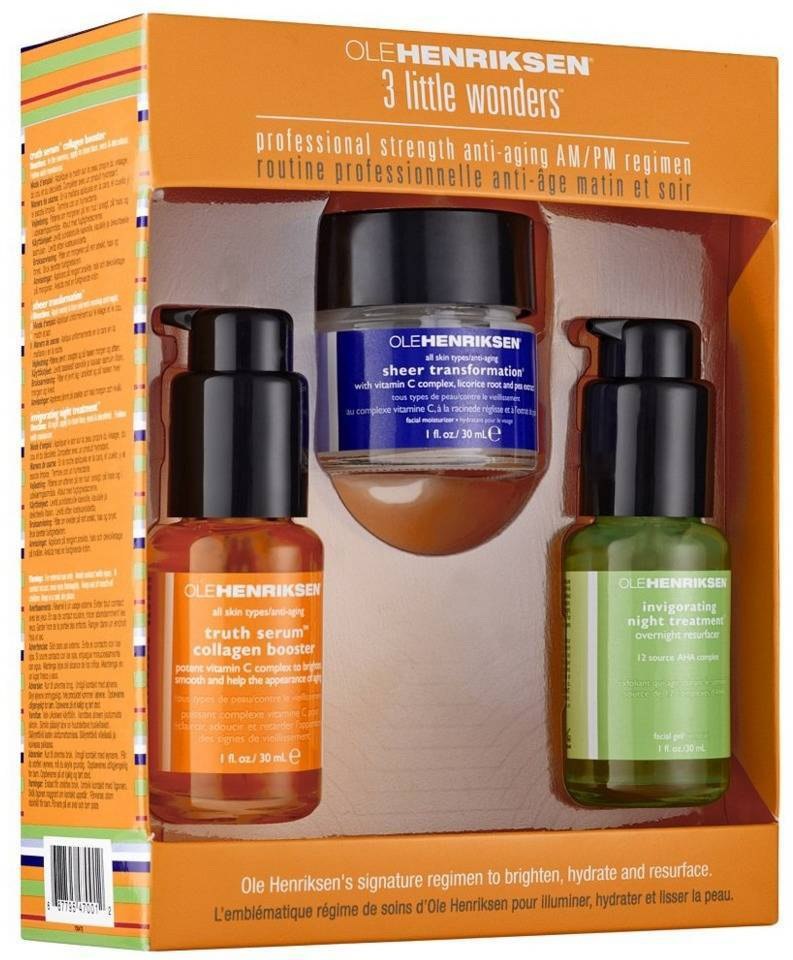 Ole Henriksen 3 Little Wonders Kit (gl. design)