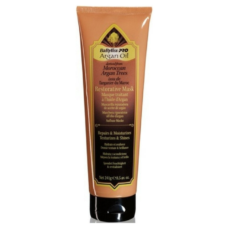 Babyliss pro argan oil shampoo 350 ml baoils12e fra Babyliss pro på nicehair.dk