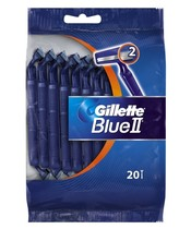 Gillette Blue II 20 Razors