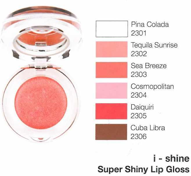 New cid cosmetics New cid i-shine lip gloss - pina colada fra nicehair.dk