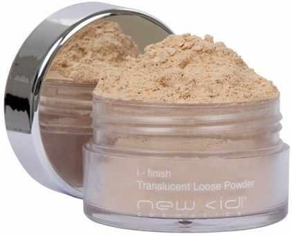 New cid i-finish translucent loose powder 13 g - 02 dark fra New cid cosmetics på nicehair.dk