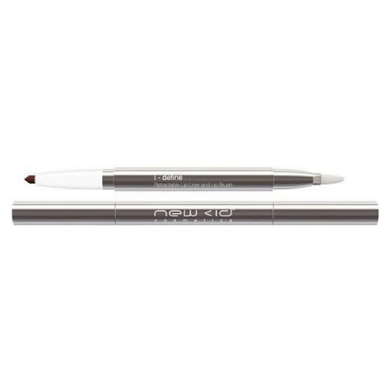 New cid cosmetics – New cid i-flutter double brush mascara 8 ml - black fra nicehair.dk