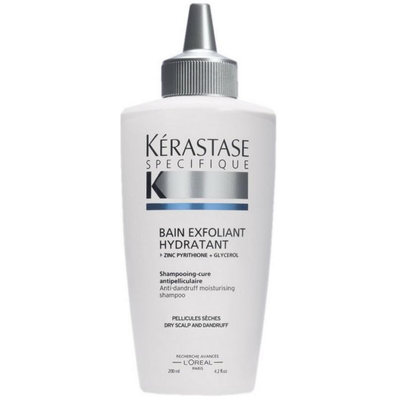 K rastase specifique bain exfoliant hydratant shampoo 200 for Kerastase bain miroir 1 shampoo