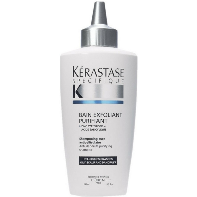 K rastase specifique bain exfoliant purifiant shampoo 200 for Bain miroir 1 kerastase