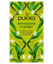 Pukka Lemongrass & Ginger Tea - Organic