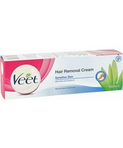 Veet Hair Removal Cream Aloe Vera & Vitamin E Sensitive Skin 200 ml.