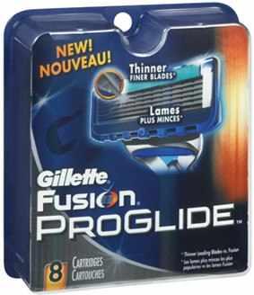 Gillette Fusion Proglide 8 Blades