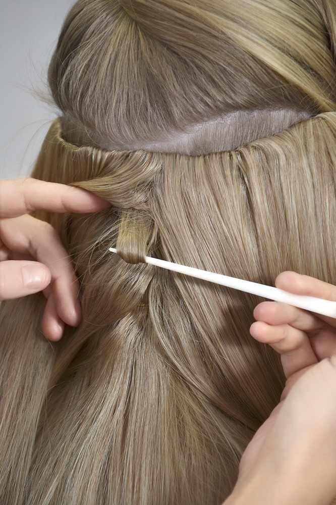 Haircontrast bouncebounce extension - krollet 60 cm - farve 8084 us fra Haircontrast fra nicehair.dk