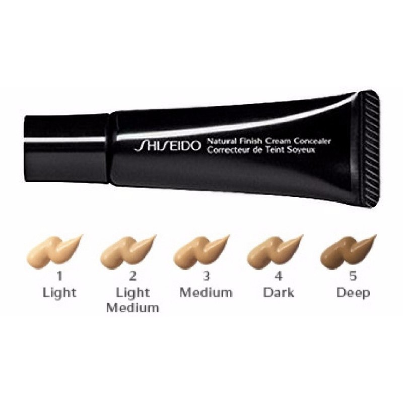 Shiseido Natural Finish Cream Concealer Review