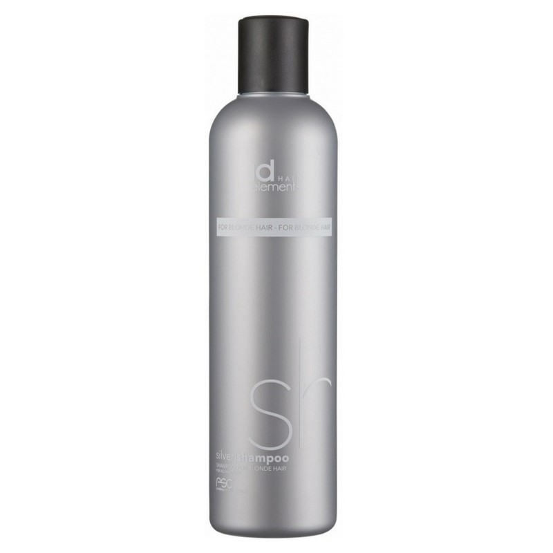 id hair elements silver shampoo for blonde hair 250 ml 20 70. Black Bedroom Furniture Sets. Home Design Ideas