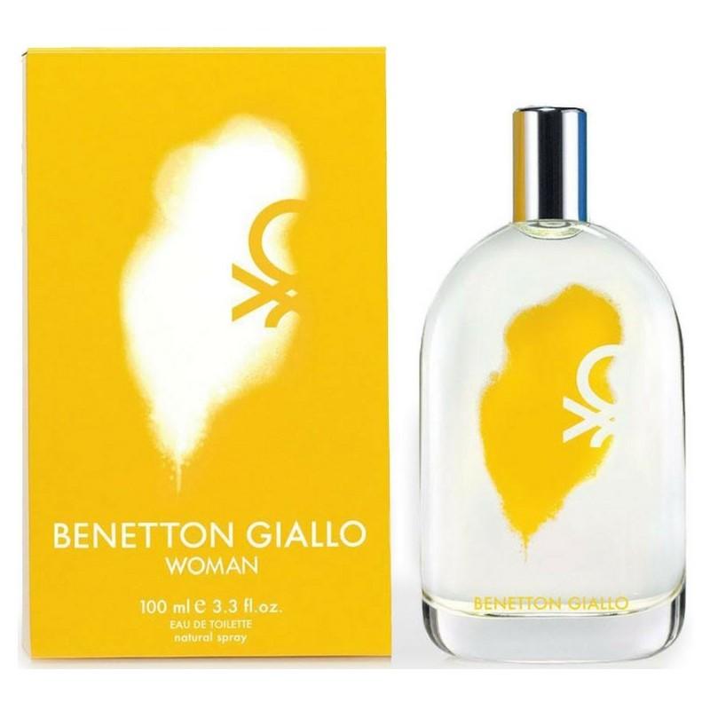 Benetton Edt Giallo Woman 100ml