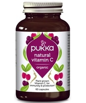Pukka Natural Vitamin C 60 Kapsler