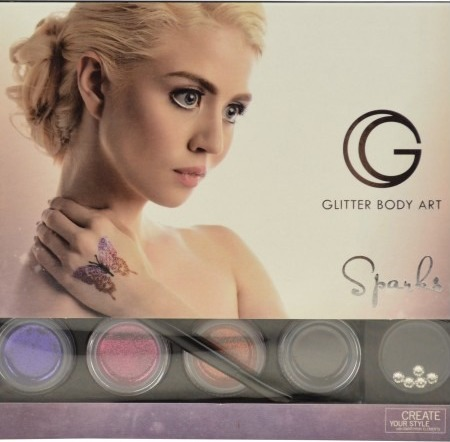 G the body art G the body art proffesional glitter body art luxe us fra nicehair.dk
