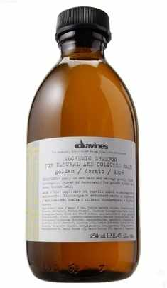 Davines Alchemic Shampoo 280 ml - Golden (gl. design)