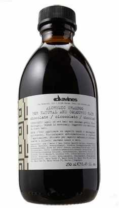 Davines Alchemic Shampoo 280 ml - Chocolate (gl. design)