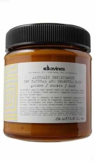 Davines Alchemic Conditioner 250 ml - Golden (gl. design)