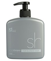 Id Hair Elements Silver Shampoo For Blonde Hair 500 ml (U)
