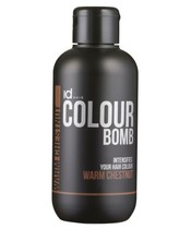 Id Hair Colour Bomb Warm Chestnut 250 ml (gl. design)