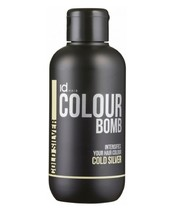 Id Hair Colour Bomb Cold Silver 250 ml (gl. design)