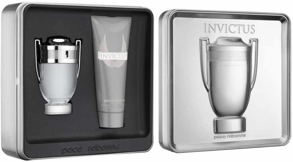 paco rabanne invictus man edt 100 ml all over shampoo. Black Bedroom Furniture Sets. Home Design Ideas