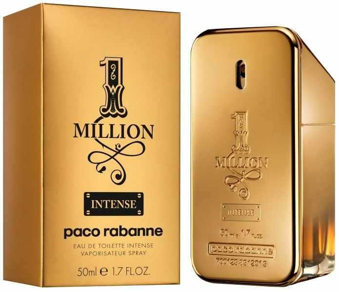 Paco Rabanne One Million Intense Eau De Toilette Spray Man 50ml